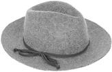 Accessorize Bow Trim Thermo Fedora Hat