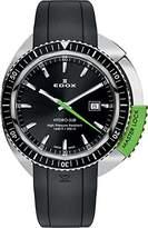 Edox Men's Quartz Watch HYDRO SUB 53200 3NVCA NIN with Rubber Strap