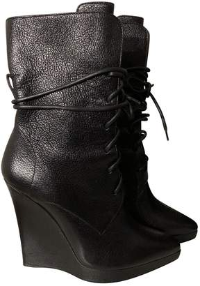 Reed Krakoff \N Black Leather Ankle boots