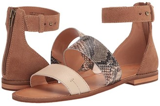 Frye AND CO. Evie 2 Band Sandal (Snake Multi Embossed Leather/Suede/Waxy Full Leather) Women's Sandals