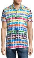 Robert Graham Rainbow Basin Short-Sleeve Sport Shirt