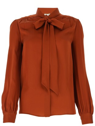 Saint Laurent Bow-Tie Shirt