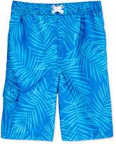 Kanu Surf Palma Palm-Print Swim Trunks, Big Boys (8-20)
