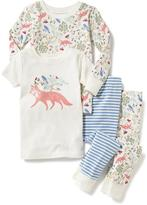 Old Navy Graphic 4-Piece Sleep Set for Toddler & Baby