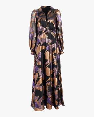Temperley London Kitty Filcoupe Button Dress