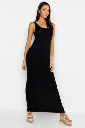 boohoo Tall Basic Maxi Dress