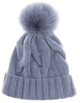 Loro Piana Courchevel fur-trimmed beanie