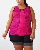Penningtons Essentials Tech - Plus-Size Printed Tank Top
