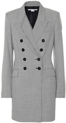 Stella McCartney Houndstooth wool dress