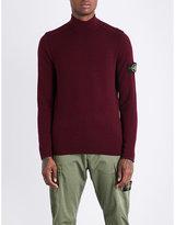 Stone Island Lightweight Knitted Wool-blend Jumper