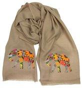 Janavi The Traditional Elephant Motif Scarf
