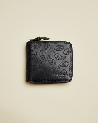 Ted Baker NOVALY Leather paisley bifold wallet