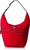Tommy Hilfiger Nylon Hobo Bag