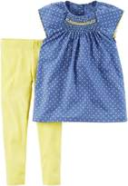 Carter's Baby Girls' 2-Piece Shirt And Legging Set