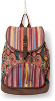 Toms multi pattern mix departure backpack