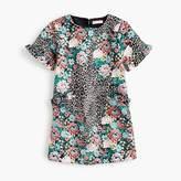 J.Crew Girls' leopard-print dress