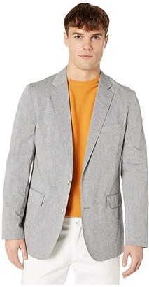 J.Crew Ludlow Slim-Fit Unstructured Suit Jacket (Light Grey) Men's Clothing