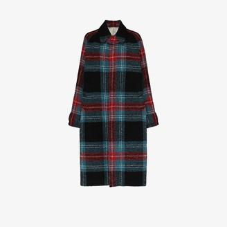Charles Jeffrey Loverboy Doctors tartan coat