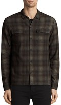 AllSaints Redbluff Slim Fit Button-Down Shirt