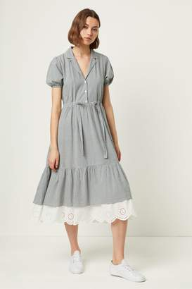 French Connection Vintage Jacqueline Check Shirt Dress