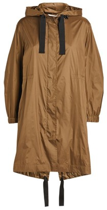 Max Mara Hooded Parka Coat
