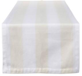 """Design Imports Dobby Stripe Table Runner 18 x 108"""""""