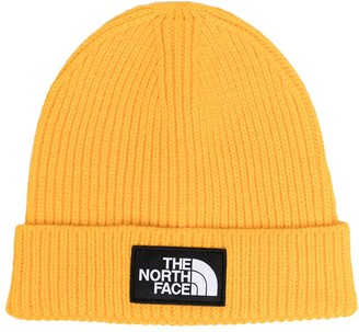 The North Face Kids Logo-Patch Beanie