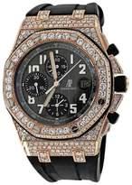 Audemars Piguet Royal Oak Offshore Chronograph Rose Gold Diamond Watch