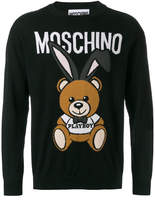 Moschino Playboy bear sweater