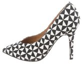 Isabel Marant Patterned Pointed-Toe Pumps