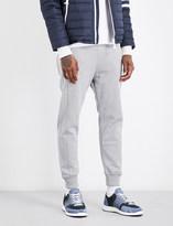 Moncler Gamme Bleu Panelled cotton-jersey jogging bottoms