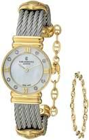 Charriol Women's 028YD1540552 St Tropez Analog Display Swiss Quartz Silver Watch