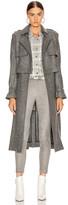 RtA Harlow Coat in Grey   FWRD