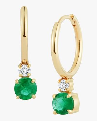 Jemma Wynne Prive Petite Gold Huggie Earrings