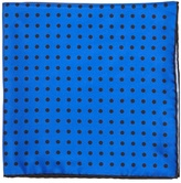 Lanvin Multi Polka-dot Silk Pocket Square