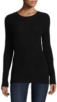 White + Warren Women's Ribbed Cashmere Sweater