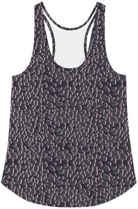 Rebecca J Mills Designs Animal Print Vest Top