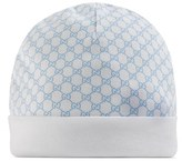 Gucci Infant Boy's Logo Knit Hat - Blue
