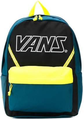 Vans colour block branded backpack