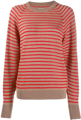 Barena striped fitted top