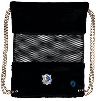 Dallas Mavericks Mesh Gold Chain Drawstring Bag