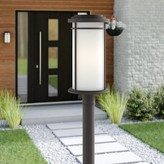 Bronx Scot Outdoor 1-Light Lantern Head Ivy Finish: Old Bronze
