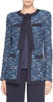 St. John Nia Tweed Knit Jacket