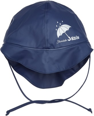 Sterntaler Children's Rain Hat with Neck Guard Age: 4-6 Years Size: 55
