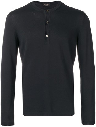 Dell'oglio Button Up Knitted Jumper