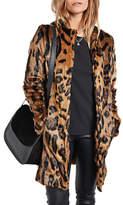 Hush Leo Faux Fur Coat, Leopard