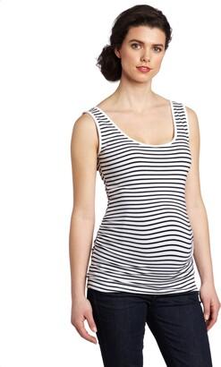 Ripe Maternity Women's Stripe Tube Tank Top