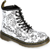 Dr Martens Delaney Printed Leather Boots 6-9 Years