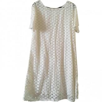 Gerard Darel White Lace Dress for Women