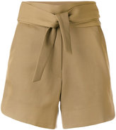 IRO tie-waist shorts - women - Cotton/Viscose - 36